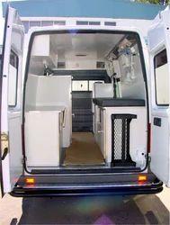 Interior View - Large Panelvan