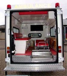 Interior Full Body Ambulance
