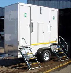 Vip Toilet Single Axle, Compact