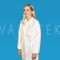 Disposable Polypropylene Lab Coat
