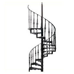 Aluminum spiral staircase from cassa exim private limited for Aluminum spiral staircase prices