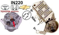 Ac Auto Alternator Voltage Regulator Avr 12v Toyota