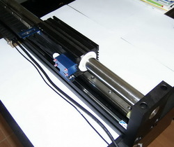 Hollow shaft servo motors from printed motors gmbh for Hollow shaft servo motor