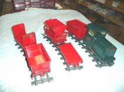 Large Trucks & Pressed Steel Toys