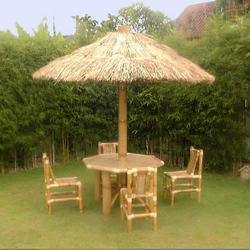 outdoor furniture bamboo table chair and umbrella bamboo company furniture