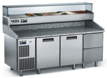 Refrigerated Working Tables Pizza Easy