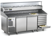 Refrigerated Working Tables Pizza Professional