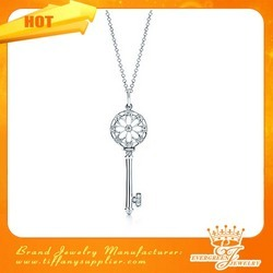 Tiffany Supplier Com Tiffany Keys Floral Key Pendant Tiffany Keys Floral