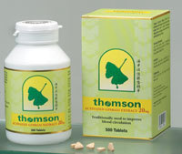 Thomson Activated Ginkgo Extract 20mg
