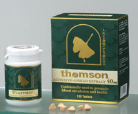 Thomson Activated Ginkgo Extract 40mg