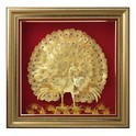 24K Gold Foil 3D Craft Art