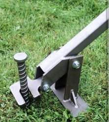 Lever Stake Puller & Tent Stakes Double Head Tent Stakes from Pioneer Tool u0026 Forge ...