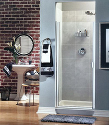 Frameless Continuous Hinge Shower Door