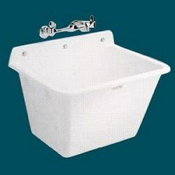 Wall Hung Mop Sink : 16 Utilatub Wall Mounted Service Mop Sink from E. L. Mustee & Sons ...