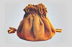 Genuine Suede & Silk Jewelry Bags
