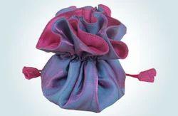 Shimmering Taffeta Jewelry Bags