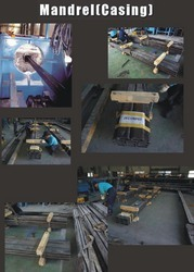 Mandrel(casing) for Prefabricated vertical drain