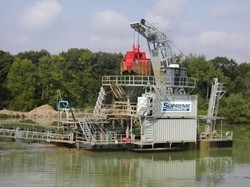 Yard Modular Clamshell Dredge