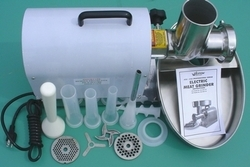 Stainless Steel Electric Meat Grinder & Sausage Stuffer