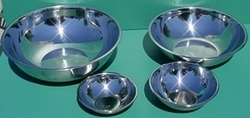 Stainless Steel Mixing/Serving Bowl Set