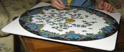 Rotating Jigsaw Puzzle Board