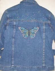 Butterfly Denim Jacket