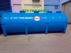 Stp Frp Biofit ( Sewage Treatment Plant ).