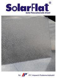 Solid Polycarbonate Sheets - Embossed pattern