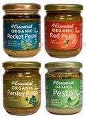 Organic Vegan Pestos