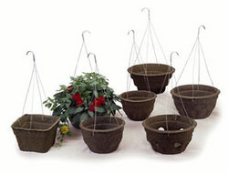 Fiber Grow Pots /Waxtough Fiber Grow Hanging Pots