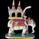 Marble Elephant Pair-119 (Ambabari)