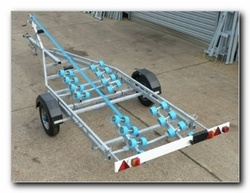 Swing Beam Boat Trailer