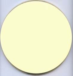 Electric Burner Cover (Almond Colour)