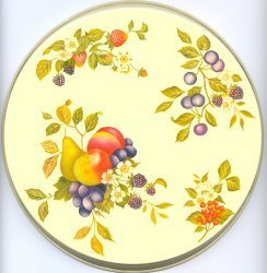 Electric Burner Cover (Almond Fruit)