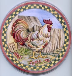 Electric Burner Cover (Big Chicken)