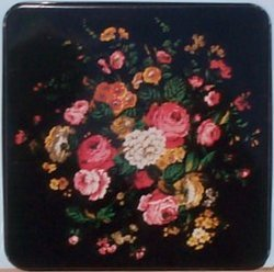 Rectangular Burner Cover (Black Rose)