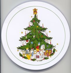 Electric Burner Cover (Christmas)