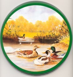 Electric Burner Cover (Mallard Ducks)