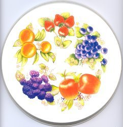 Electric Burner Cover (Mixed Fruit Almond)