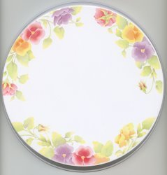 Electric Burner Cover (Summer Blush)