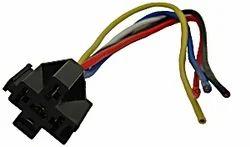 Automotive Bosch-Style Relay Socket, 5 Pin