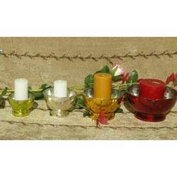 Glass Votives and T-light Holders