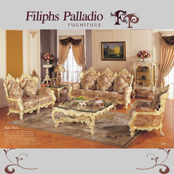Baroque Style Living Room Sofa Set