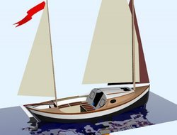 Cardigan Bay Lugger Boat