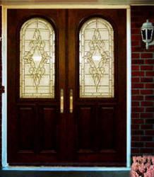 Arched Front Entry Doors - Panel, Glass, Wood | Door and Window