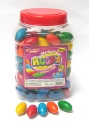 Rugby Bubble Gum (Medium)