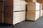 carcassing and graded construction timber