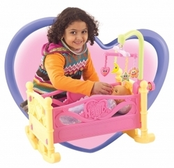 Crib & Cradle Play Set