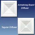 Armstrong Board Diffuser  & Regular Diffuser