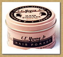 hair pomade manufacturer from e f young jr